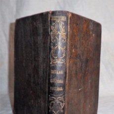 Libros antiguos: CURSO DE HISTORIA NATURAL - AÑO 1870 - J.MONLAU - GRABADOS.. Lote 83952376