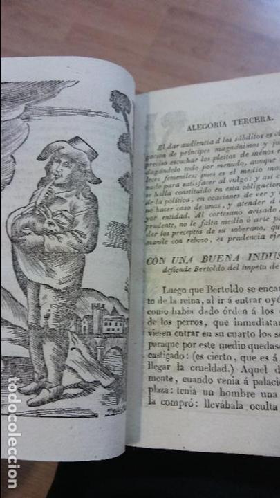 Libros antiguos: 'Historia de Bertoldo'. 1844 - Foto 4 - 77330933