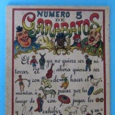 Libri antichi: NÚMERO 5 DE GARABATOS. PONS Y CIA, BARCELONA. R. DE S.N. ARALUCE, MÉXICO, SIN FECHA DE EDICIÓN.. Lote 84020748