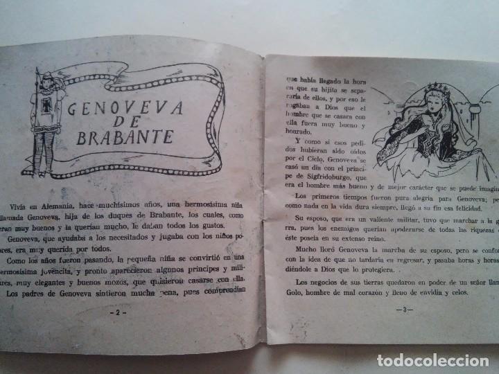 Libros antiguos: GENOVEVA DE BRABANTE - COMIC - ED. AMELLER - N. 2 - 2 PESETAS - Foto 2 - 84073084