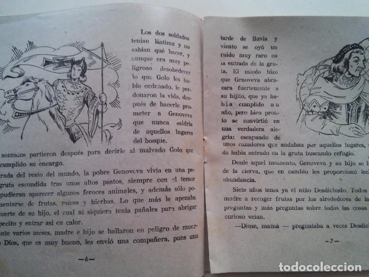 Libros antiguos: GENOVEVA DE BRABANTE - COMIC - ED. AMELLER - N. 2 - 2 PESETAS - Foto 3 - 84073084
