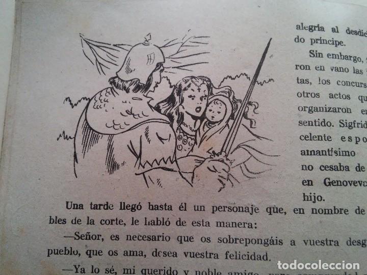 Libros antiguos: GENOVEVA DE BRABANTE - COMIC - ED. AMELLER - N. 2 - 2 PESETAS - Foto 5 - 84073084