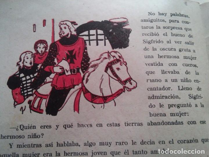 Libros antiguos: GENOVEVA DE BRABANTE - COMIC - ED. AMELLER - N. 2 - 2 PESETAS - Foto 6 - 84073084