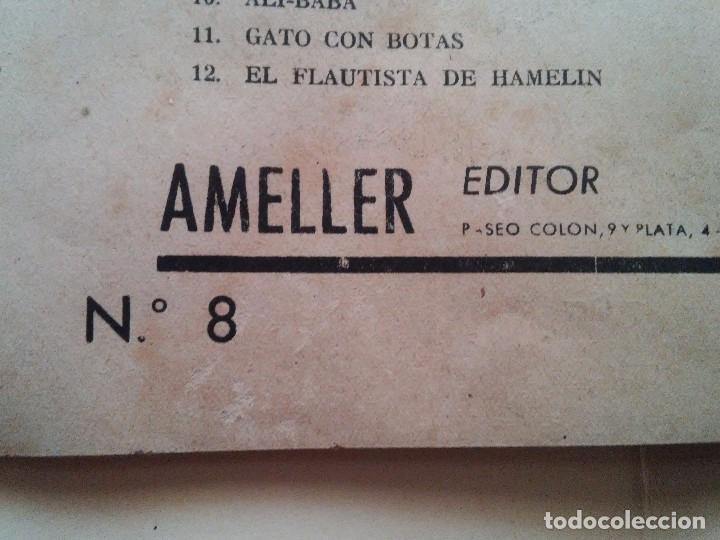 Libros antiguos: GENOVEVA DE BRABANTE - COMIC - ED. AMELLER - N. 2 - 2 PESETAS - Foto 8 - 84073084
