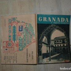 Libros antiguos: F. PRIETO. GRANADA. BARCELONA 1957. EDITORIAL NOGUER. . Lote 84135200