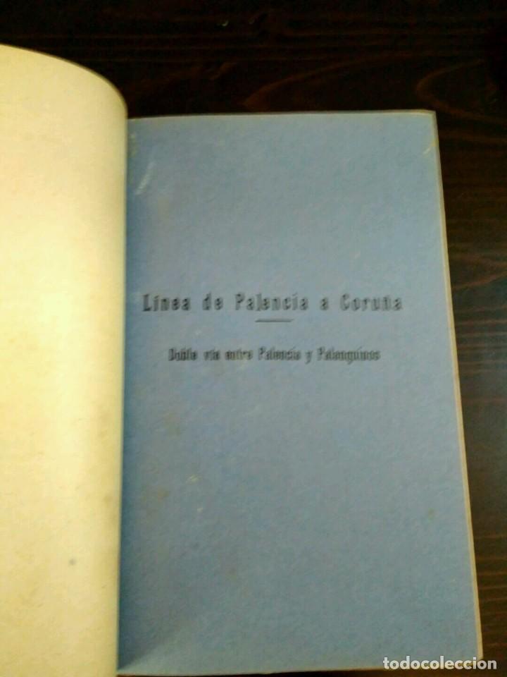 Libros antiguos: CAMINOS DE HIERRO DEL NORTE - EXPLOTACIÓN MOVIMIENTO - MADRID 1933 - LINEAS PALENCIA A CORUÑA - Foto 4 - 84202660