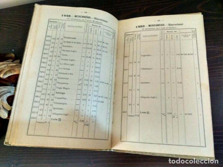 Libros antiguos: CAMINOS DE HIERRO DEL NORTE - EXPLOTACIÓN MOVIMIENTO - MADRID 1933 - LINEAS PALENCIA A CORUÑA - Foto 6 - 84202660