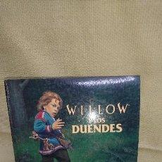 Libros antiguos: WILLOW Y LOS DUENDES - PLAZA JOVEN - AÑO 1988. Lote 84403848