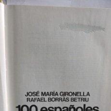 Libros antiguos: 100 ESPAÑOLES Y FRANCO. GIRONELLA, JOSE MARÍA Y BORRÀS BETRIU. RAFAEL. ED. PLANETA. . Lote 84410584