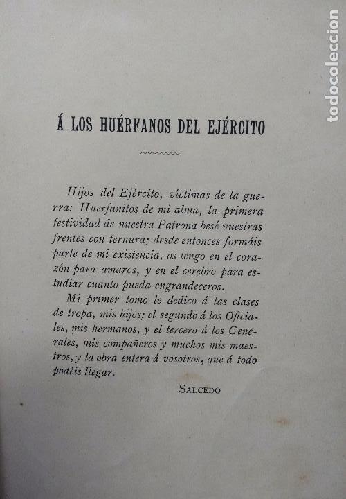 Libros antiguos: CUENTOS MILITARES. JUAN SALCEDO. ILUSTRACIONES DE PICOLO. AÑO 1895 - Foto 6 - 84627196