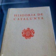 Libros antiguos: HISTÒRIA DE CATALUNYA. MOSSEN NORBERT FONT I SAGUÉ. GRABADOS. 1.933. Lote 84633416