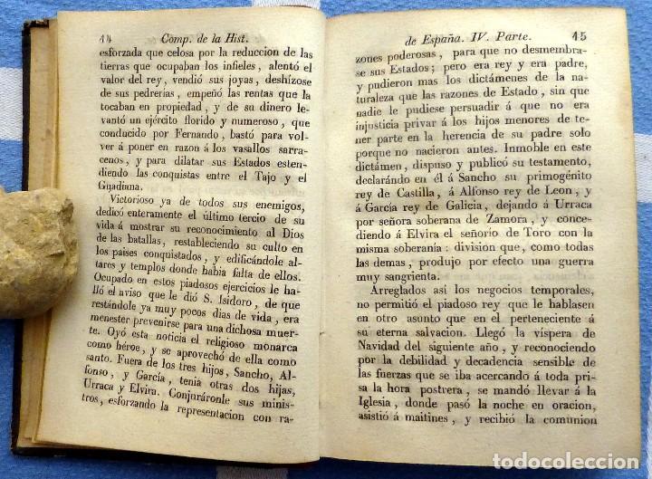 Libros antiguos: ISLA.- COMPENDIO DE LA HISTORIA DE ESPAÑA- TOMO SEGUNDO- 1849 - Foto 3 - 84822732
