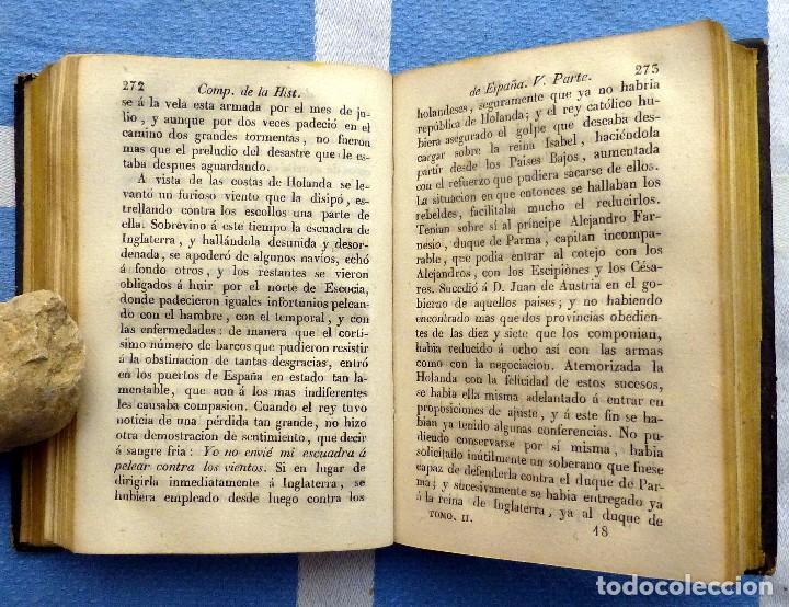 Libros antiguos: ISLA.- COMPENDIO DE LA HISTORIA DE ESPAÑA- TOMO SEGUNDO- 1849 - Foto 4 - 84822732