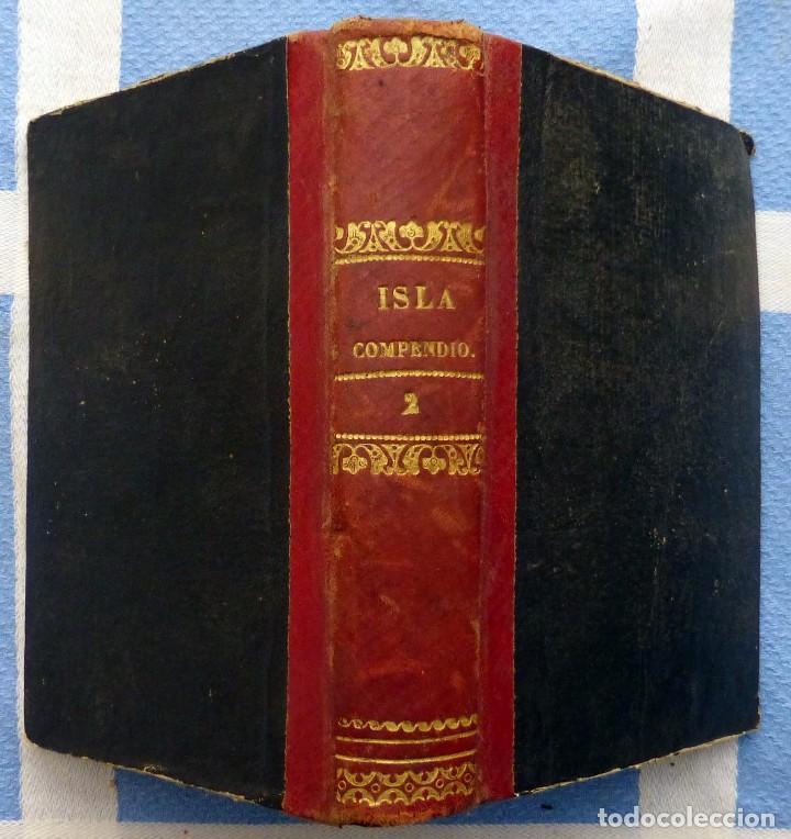 Libros antiguos: ISLA.- COMPENDIO DE LA HISTORIA DE ESPAÑA- TOMO SEGUNDO- 1849 - Foto 5 - 84822732
