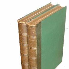 Libros antiguos: L´INGÉNIEUX HIDALGO DON QUICHOTTE DE LA MANCHE 2 VOL. FOLIO L. - ILUS. DORÉ - HACHETTE 1869 PARIS. Lote 84837200
