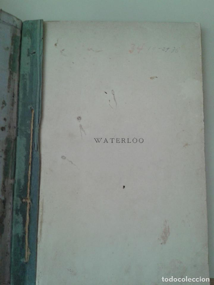WATERLOO (Libros Antiguos, Raros y Curiosos - Historia - Otros)