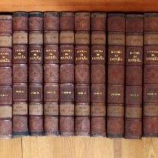 Libros antiguos: HISTORIA GENERAL DE ESPAÑA POR D.MODESTO LA FUENTE, MONTANER Y SIMON 1889. 23 X 16 CM.. Lote 85066452