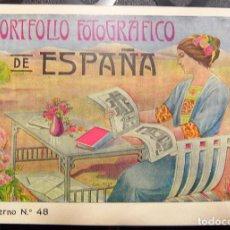 Libros antiguos: PORTFOLIO FOTOGRÁFICO DE ESPAÑA, Nº48 JAÉN. EXCELENTE ESTADO DE CONSERVACIÓN.. Lote 85128360
