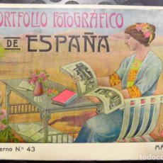 Libros antiguos: PORTFOLIO FOTOGRÁFICO DE ESPAÑA, Nº43 MÁLAGA. EXCELENTE ESTADO DE CONSERVACIÓN.. Lote 85128828