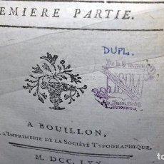 Libros antiguos: LE NOUVEAU DON QUICHOTTE - 1770 - DE LA COLECCIÓN DE JUAN SEDÓ PERIS-MENCHETA (CON EX-LIBRIS). Lote 85209308