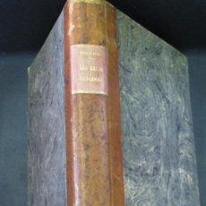 Libros antiguos: LAS RAZAS HUMANAS TOMO 1 FEDERICO RATZEL MONTANER Y SIMON AÑO 1888 SIGLO XIX. Lote 85308476
