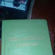 Libros antiguos: LIBRO DE COCKTELES 1890. Lote 85492368