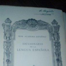 Libros antiguos: DICCIONARIO LENGUA ESPAÑOLA. Lote 85496064