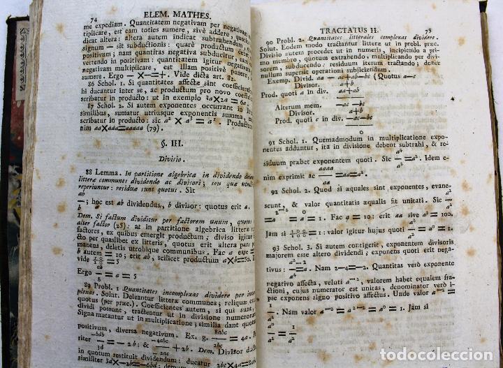 Libros antiguos: L-2041. INSTITUTIONUM ELEMENTARIUM PHILOSOPHIAE. ANDREA DE GUEVARA. 3 LIBROS. VENETIIS, 1819. - Foto 6 - 86680323