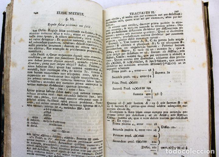 Libros antiguos: L-2041. INSTITUTIONUM ELEMENTARIUM PHILOSOPHIAE. ANDREA DE GUEVARA. 3 LIBROS. VENETIIS, 1819. - Foto 7 - 86680323