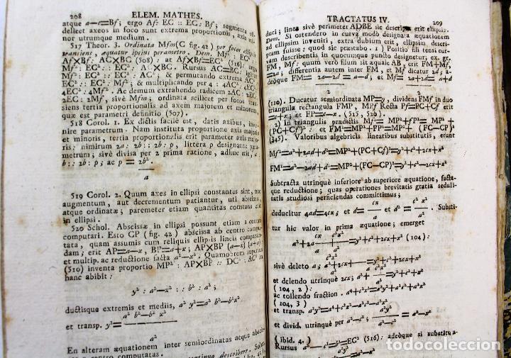 Libros antiguos: L-2041. INSTITUTIONUM ELEMENTARIUM PHILOSOPHIAE. ANDREA DE GUEVARA. 3 LIBROS. VENETIIS, 1819. - Foto 10 - 86680323