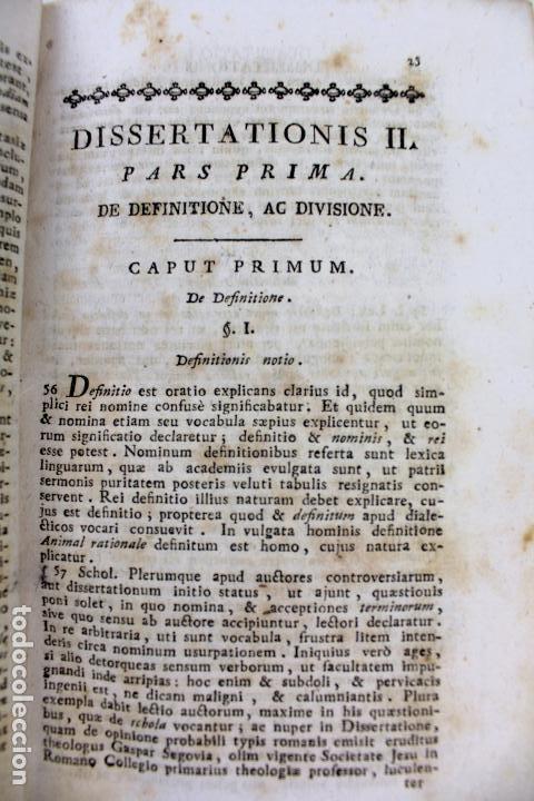 Libros antiguos: L-2041. INSTITUTIONUM ELEMENTARIUM PHILOSOPHIAE. ANDREA DE GUEVARA. 3 LIBROS. VENETIIS, 1819. - Foto 13 - 86680323