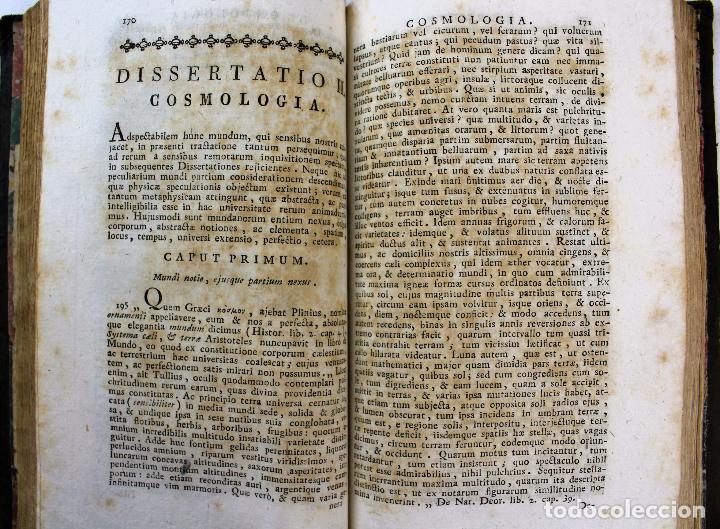 Libros antiguos: L-2041. INSTITUTIONUM ELEMENTARIUM PHILOSOPHIAE. ANDREA DE GUEVARA. 3 LIBROS. VENETIIS, 1819. - Foto 14 - 86680323