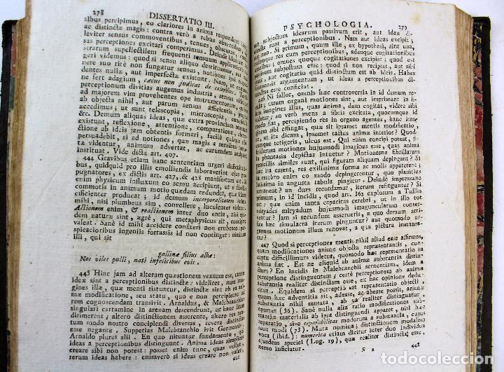 Libros antiguos: L-2041. INSTITUTIONUM ELEMENTARIUM PHILOSOPHIAE. ANDREA DE GUEVARA. 3 LIBROS. VENETIIS, 1819. - Foto 15 - 86680323