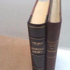 Libros antiguos: CIRO BAYO: LAZARILLO ESPAÑOL (1911) Y LOS MARAÑONES (1913). Lote 85607656