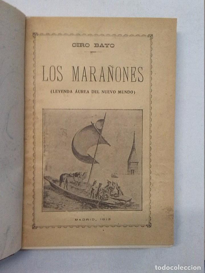 Libros antiguos: Ciro Bayo: Lazarillo español (1911) y Los Marañones (1913) - Foto 7 - 85607656