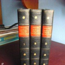 Libros antiguos: 1925-26 NOTAS VIEJAS GALICIANAS PABLO PEREZ COSTANTI TRES VOLÚMENES. Lote 85615984