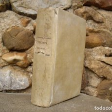 Libros antiguos: P. VIRGILII MARONIS: OPERA BREVIARIIS ET NOTIS HISPANICIS ILLUSTRATA. 1822 VALERII SIERRA. Lote 85637228