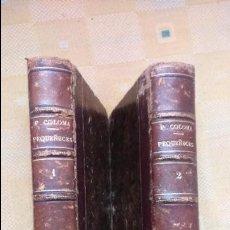 Libros antiguos: PEQUEÑECES, PADRE COLOMA 1890, N.1 Y N. 2. Lote 85758228