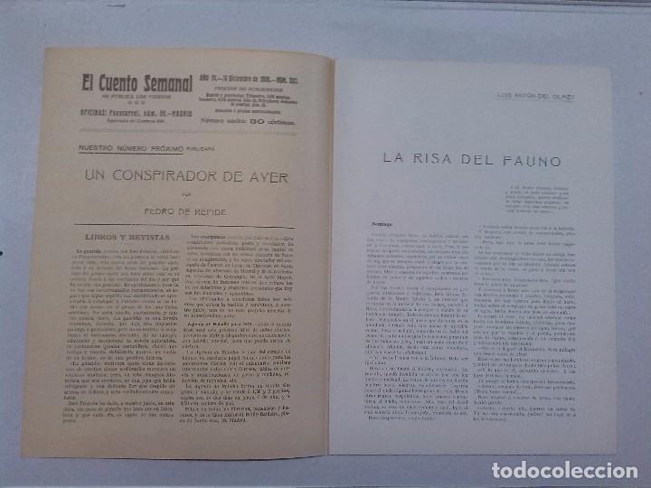Libros antiguos: El Cuento semanal. 5 números sueltos - Foto 7 - 85791520
