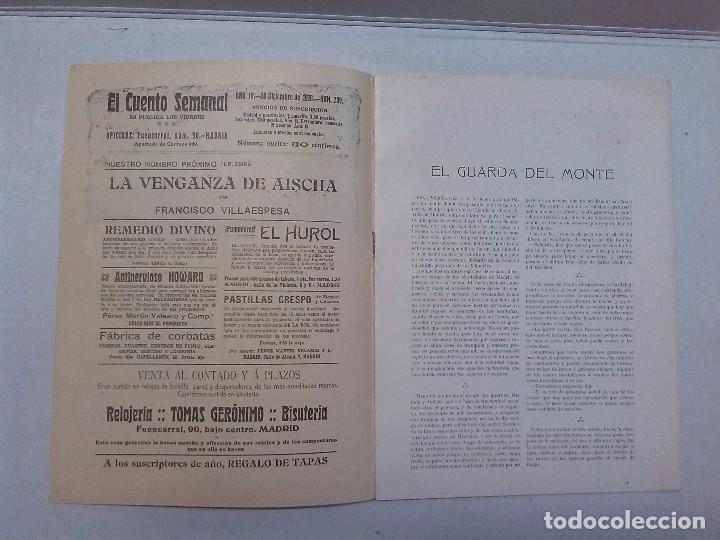 Libros antiguos: El Cuento semanal. 5 números sueltos - Foto 10 - 85791520