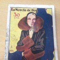 Libros antiguos: LA NOVELA DE HOY LA MUJER DE SU VIDA. Lote 86012252