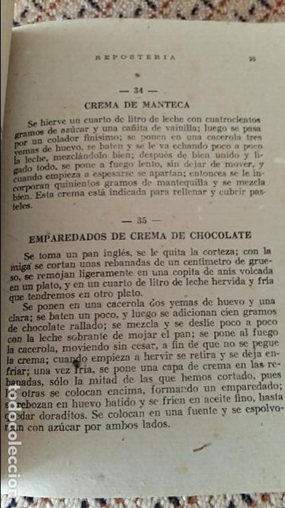 Libros antiguos: LIBRO LA COCINA PARA TODOS REPOSTERIA. R FERRO. EDIT AMELLER, infinidad de recetas - Foto 2 - 86089260