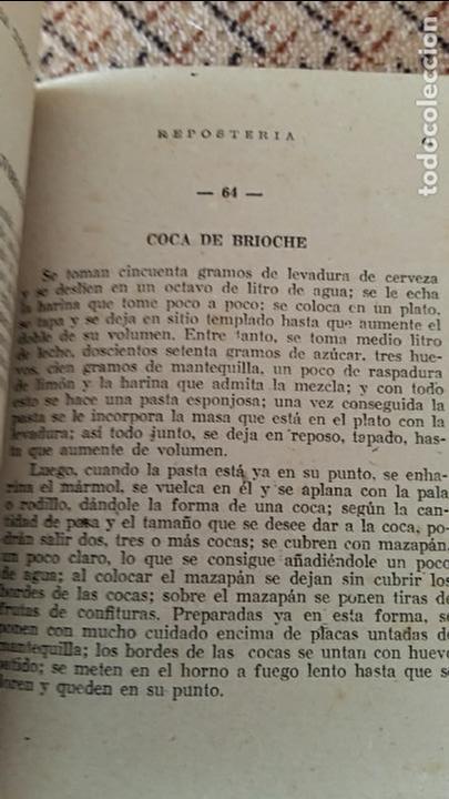 Libros antiguos: LIBRO LA COCINA PARA TODOS REPOSTERIA. R FERRO. EDIT AMELLER, infinidad de recetas - Foto 3 - 86089260