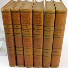 Libros antiguos: L-1085. EL HOMBRE Y LA TIERRA. ELISEO RECLÚS. 6 TOMOS. 2ª EDICION. AÑO 1932.. Lote 86124608