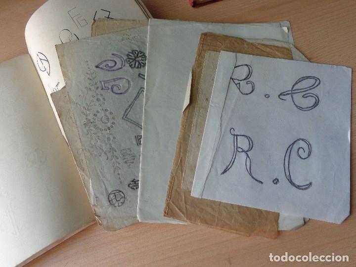 Libros antiguos: MONOGRAMAS ,MARCAS Y ENLACES PARA LECERIA Y USO COMERCIAL -LIBRERIA C.SEITHER- EDITORIAL ORBIS - Foto 4 - 86152508