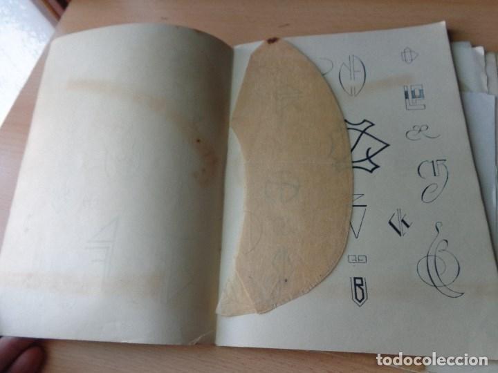 Libros antiguos: MONOGRAMAS ,MARCAS Y ENLACES PARA LECERIA Y USO COMERCIAL -LIBRERIA C.SEITHER- EDITORIAL ORBIS - Foto 8 - 86152508