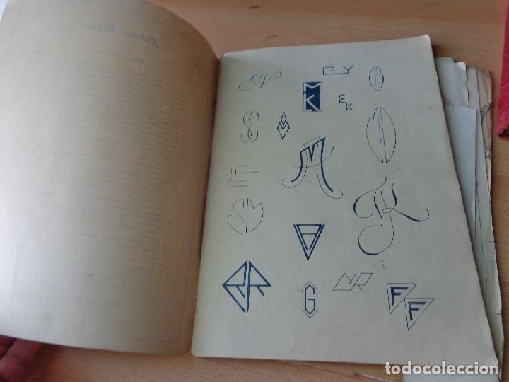 Libros antiguos: MONOGRAMAS ,MARCAS Y ENLACES PARA LECERIA Y USO COMERCIAL -LIBRERIA C.SEITHER- EDITORIAL ORBIS - Foto 9 - 86152508