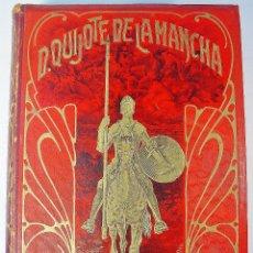 Libros antiguos: CERVANTES. DON QUIJOTE DE LA MANCHA (2 TOMOS) ED. VDA. DE LUIS TASSO. EDICIÓN CROMOTÍPICA.. Lote 86188548