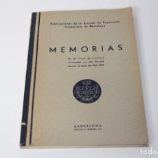 Libros antiguos: MEMORIAS VIAJES 1934-1935 INGENIEROS INDUSTRIALES (CON FOTOGRAFÍAS ÉPOCA) . Lote 86378148