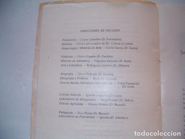 Libros antiguos: Seminario de Estudos Galegos. Dez Cursos de Traballo. 1923-1934. RM80610. - Foto 5 - 86384832